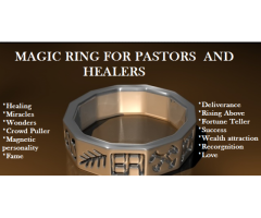 BUY THE WITCHCRAFT MAGIC RING WHICH CAN SOLVE ANY PROBLEM YOU HAVE